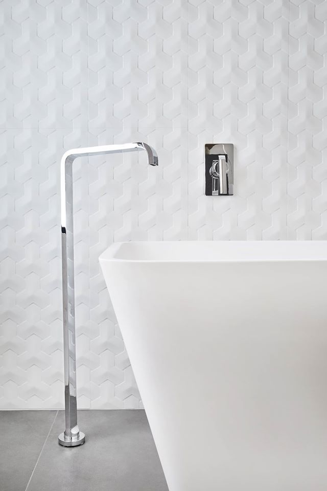 Porcelanosa Oxo Hannover Blanco 3 Dimensional Feature Tile Available At Ceramo Perry Lakes