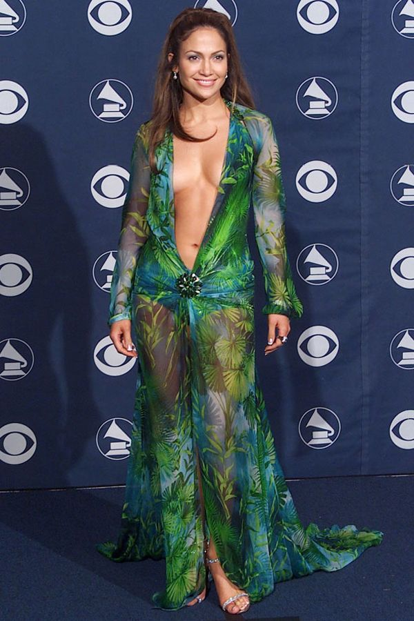 0f41dcc32c Jennifer Lopez in Roberto Cavalli   Unforgettable Dresses   Jennifer ...