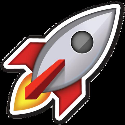 raketen emoji
