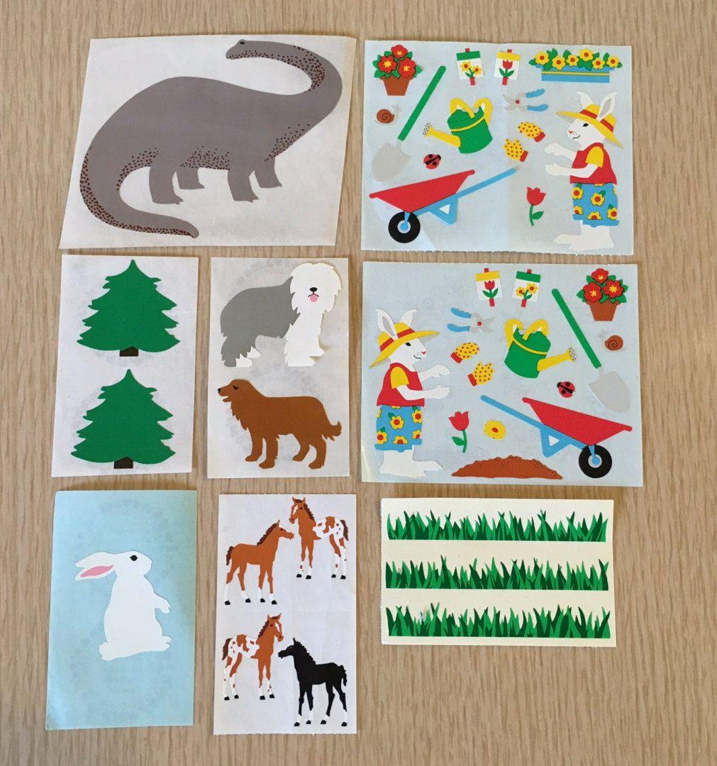 Mrs Grossman`s SCHOOL 1986 Stickers Vintage