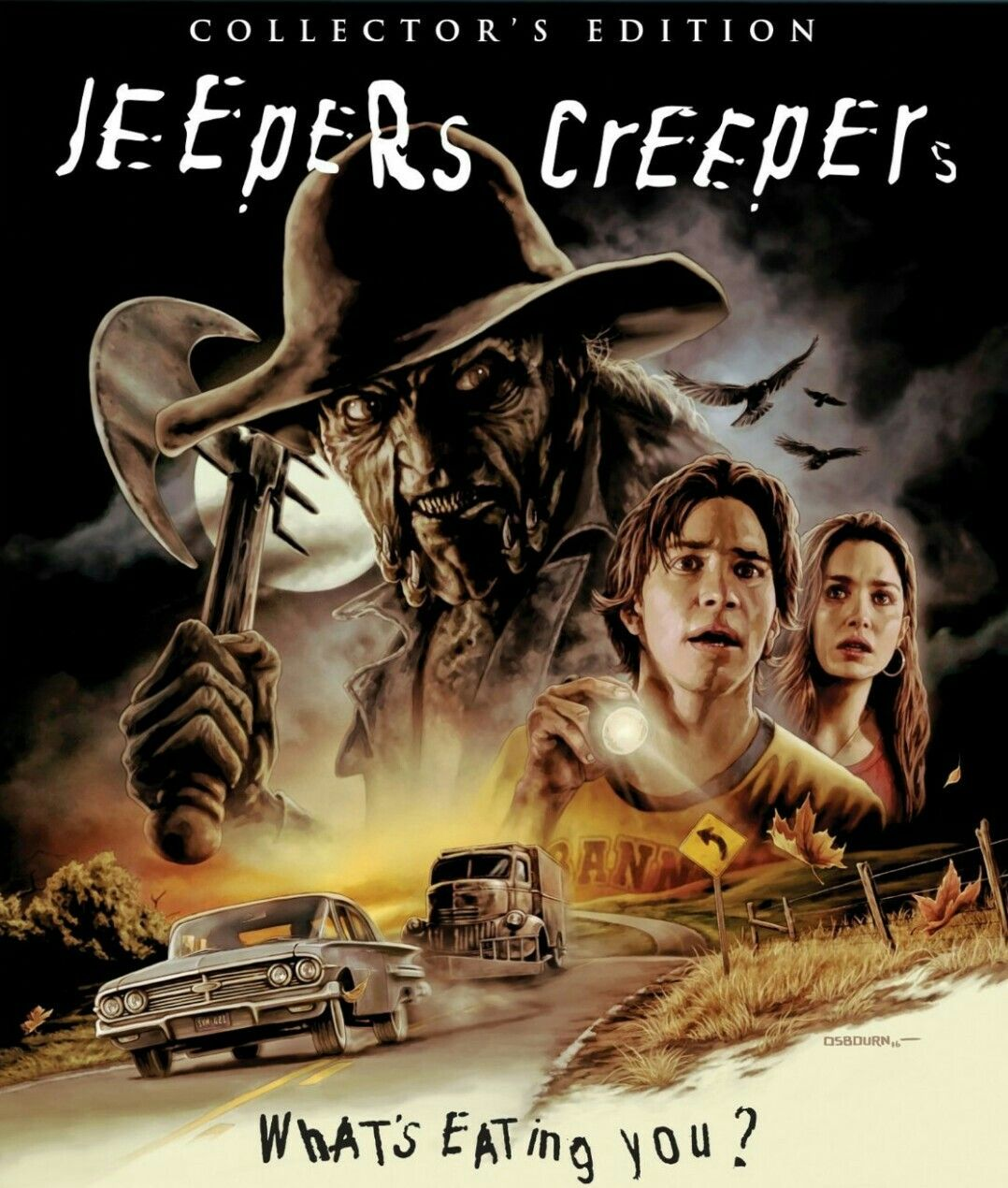 Jeepers Creepers Horror Movie Poster Collector Edition Film