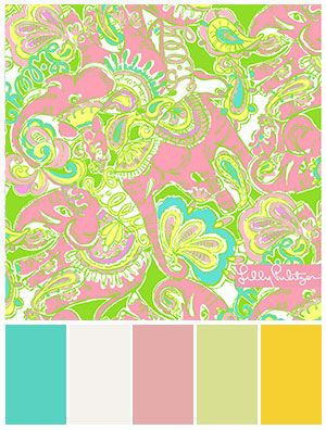 Lilly Pulitzer For Lee Jofa Color By General Paint Stylyze Findcoordinatingcolors