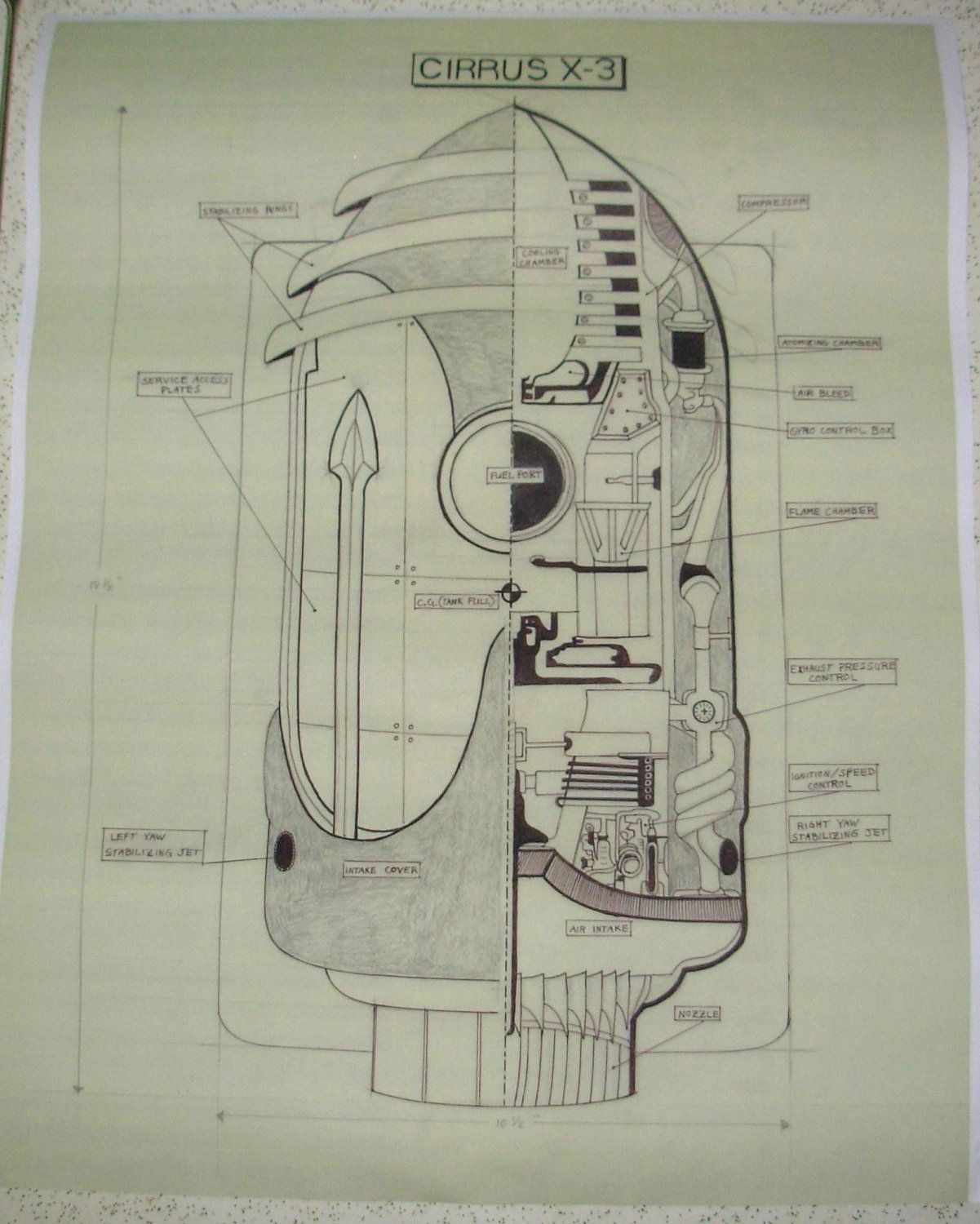 Rocketeer blueprints as drawn by doc savage 2000 via etsy rocketeer blueprints as drawn by doc savage 2000 via etsy malvernweather Choice Image