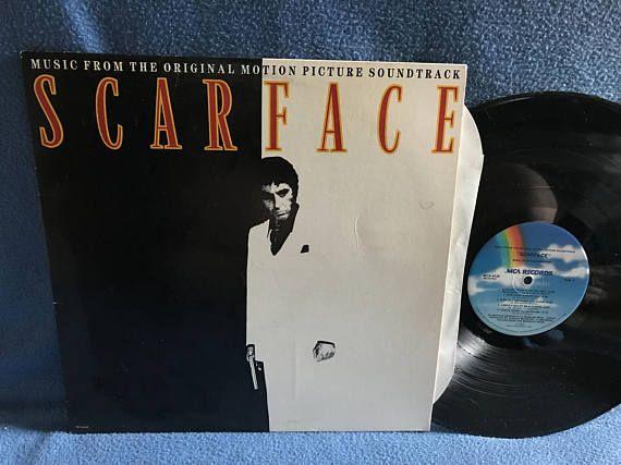 Rare Vintage Scarface Giorgio Moroder Original Vinyl For Sale Vinyl Sales The Originals Album