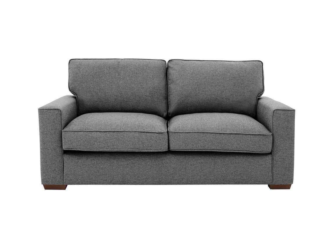 Comfi 3 Seater Fabric Classic Back Sofa Bed In 2020 With Images Sofa Bed Design Corner Sofa Versatile Sofa