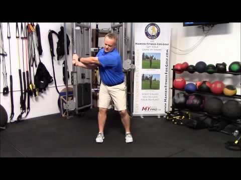 3 Stretches for More Shoulder Turn in Your Golf Swing! - YouTube