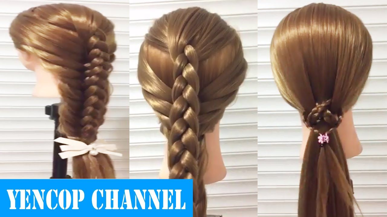 Como Hacer Una Trenza Invertida De Dos Gajos Facil Y Rapido Peinado 20 Peinados 2016 Trenza Invertida Peinados