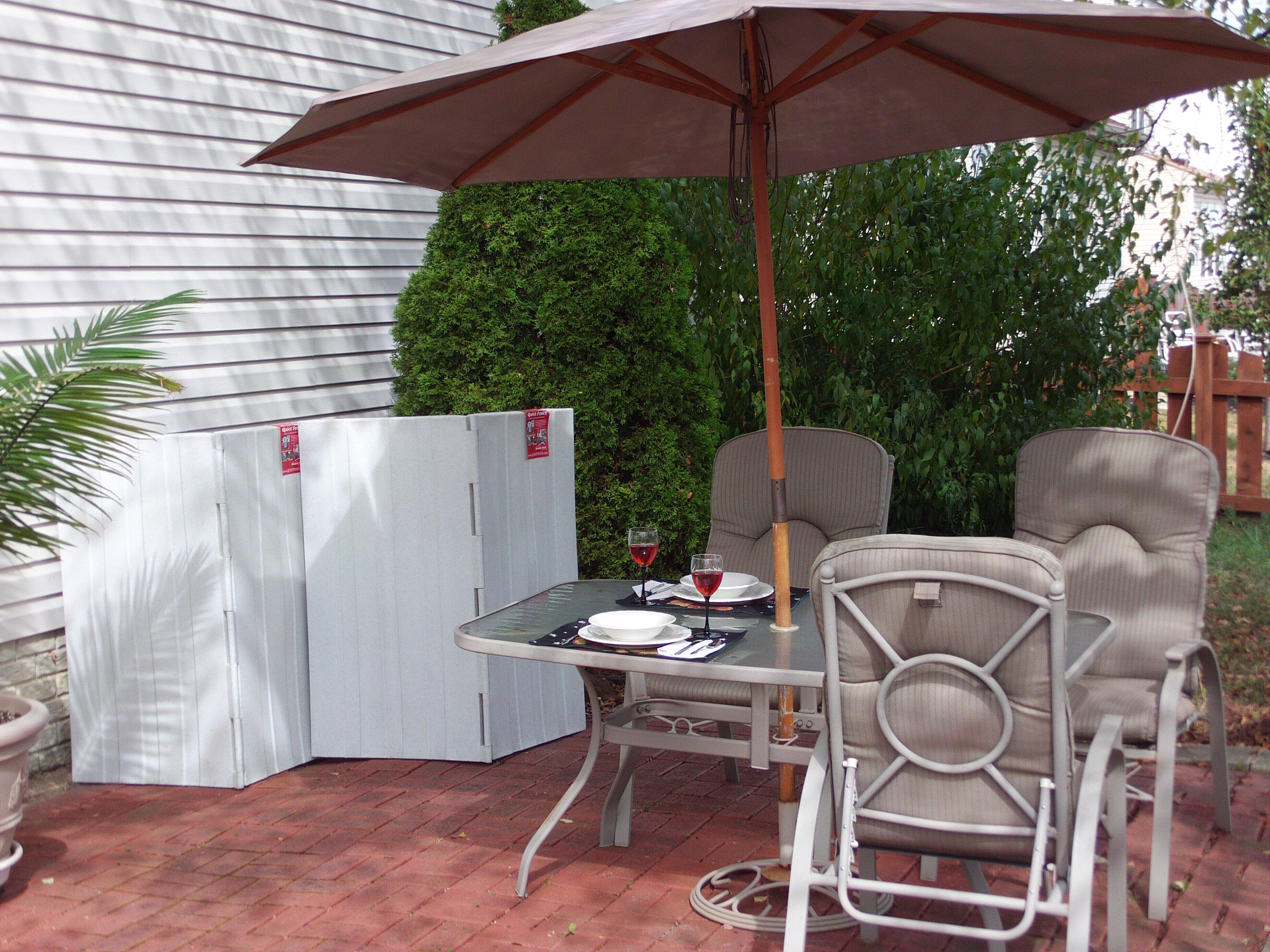 Quiet Fence™ w/ Hushhh BloX® the perfect acoustical