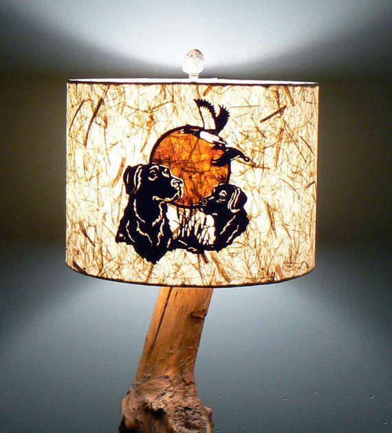 Paper lamp shade duck hunters labrador retrievers by liteandshadow paper lamp shade duck hunters labrador retrievers by liteandshadow mozeypictures Gallery