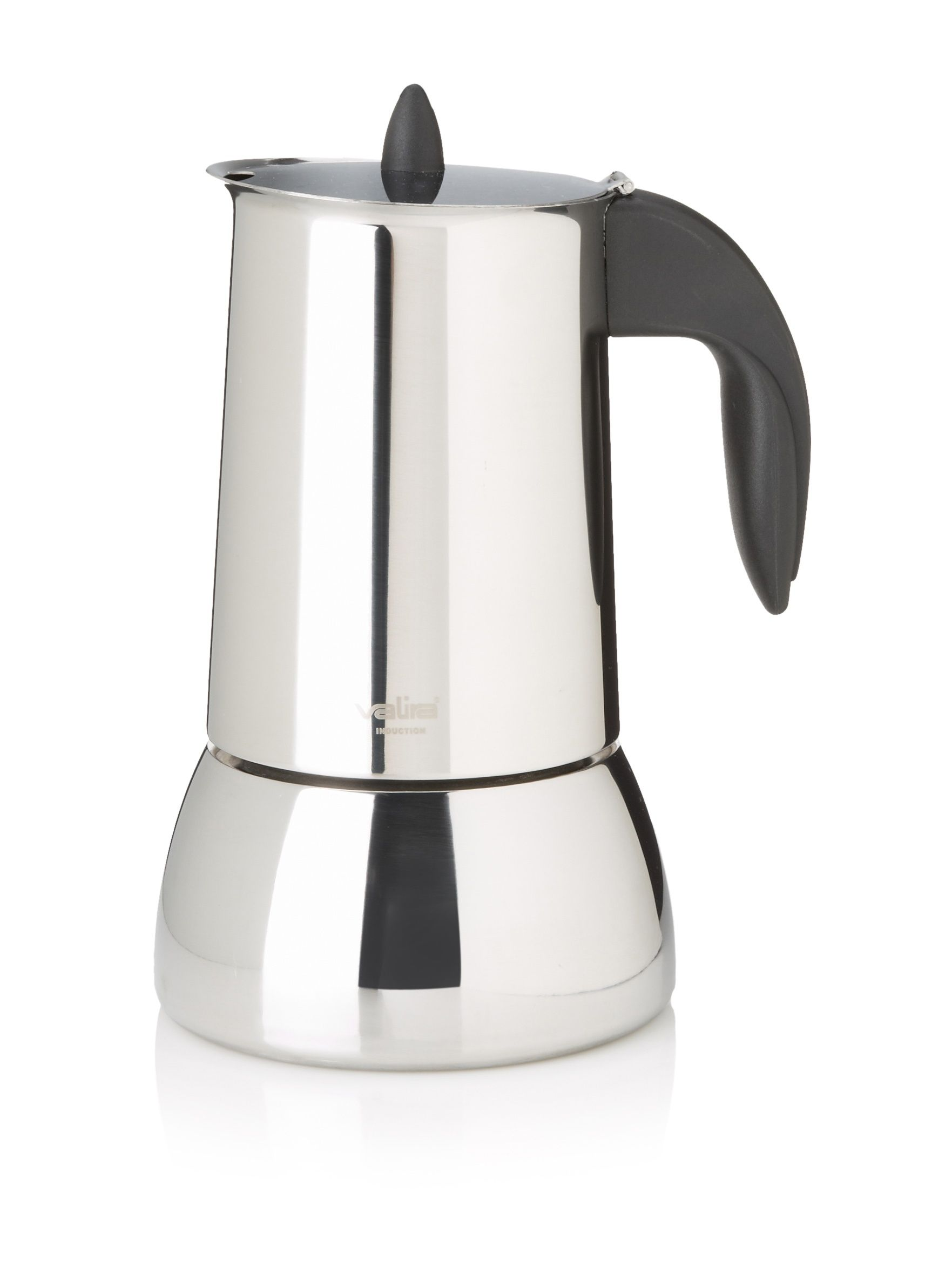 Valira Isabella Stainless Steel Cup StoveTop Coffee Maker