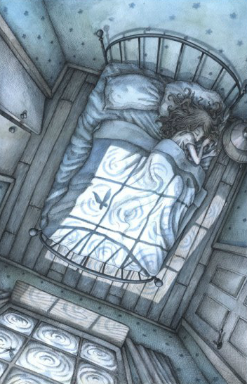 Asleep By Adamn Oehlers イラストレーター イラストアート