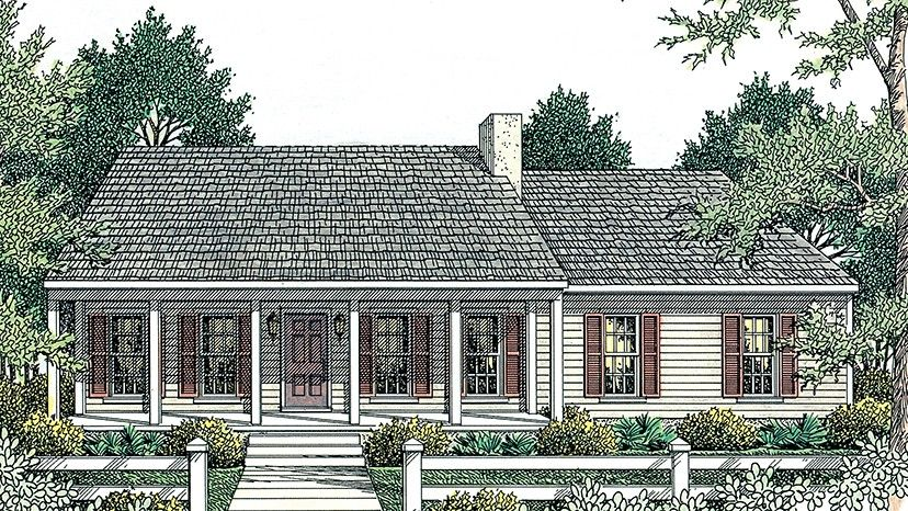 Home plan homepw17856 1492 square foot 3 bedroom 2 for Home plan com