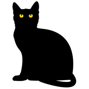 Halloween Cat Sitting With Images Black Cat Tattoos