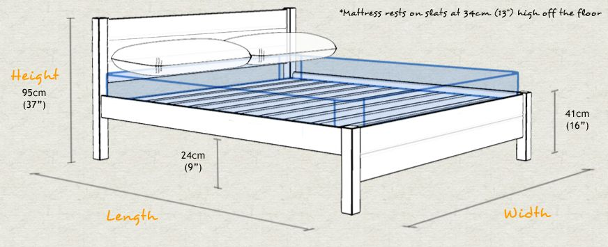 Bed Sizes Uk Save Up To 47 Low Platform Bed Wooden Bed