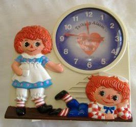 Raggedy Ann And Andy Talking Alarm Clock Raggedy Ann And Andy