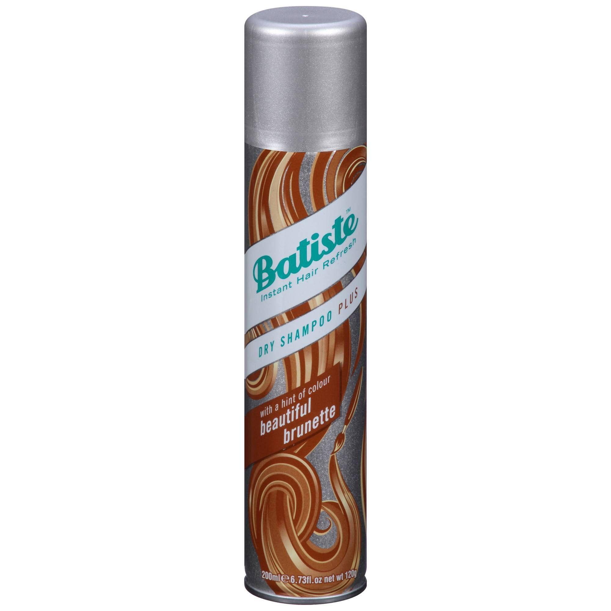 Batiste Hint Of Color Beautiful Brunette Dry Shampoo 6 73 Fl Oz Batiste Dry Shampoo Dry Shampoo Shampoo