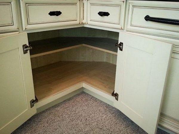 Kitchen Corner Cabinet Storage Ideas  For the Home