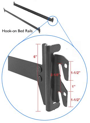 Hook On Bed Rail Bed Rails Frame Store Bed