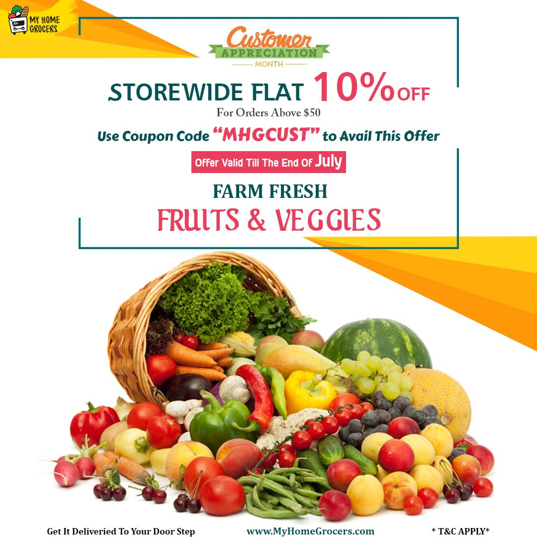 Buy Farm Fresh Fruits & Veggies Online at great prices on