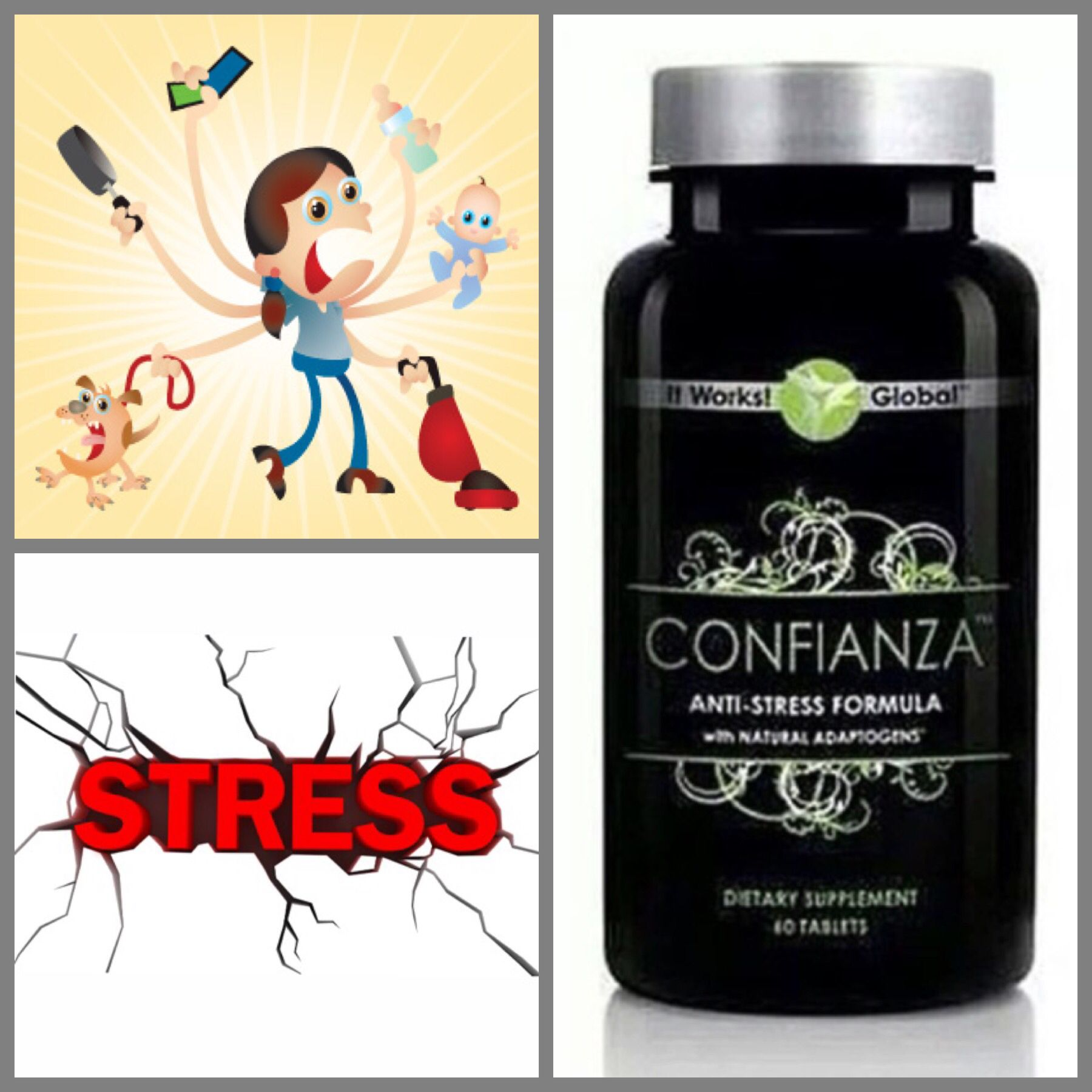 Pin by A SHY PRINCESS on ITWORKS It works, Anti stress