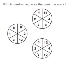 Can you find the number that replaces the question mark