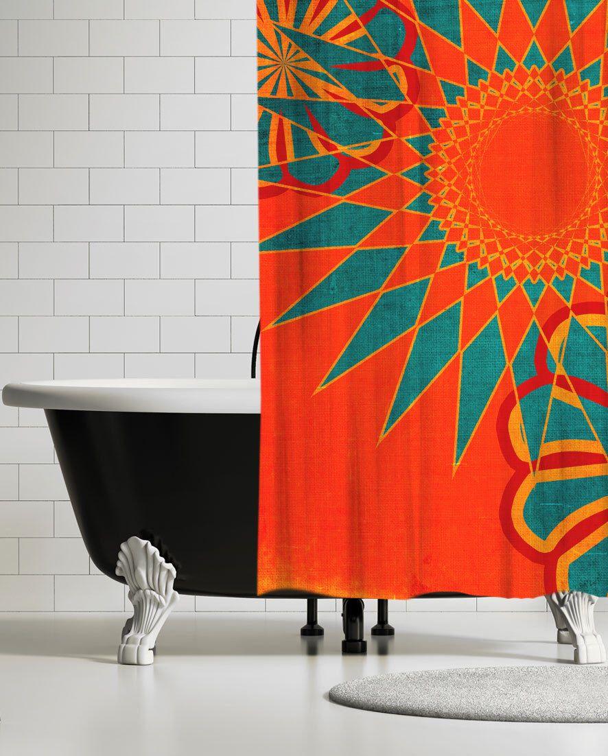 Octopus shower curtain etsy - Modern Shower Curtains