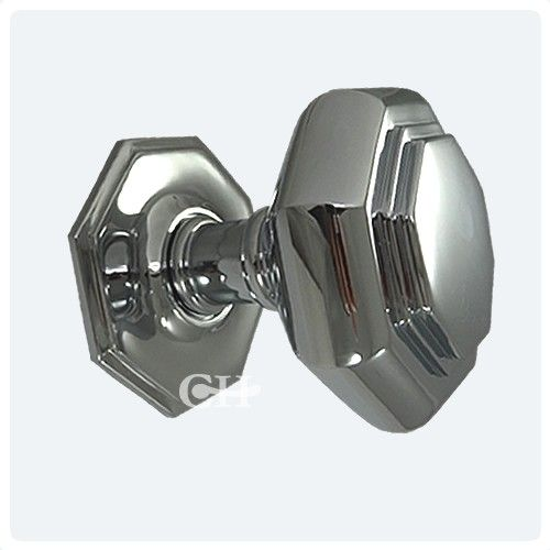 polished chrome centre door knobs | hardware | Pinterest | Door ...