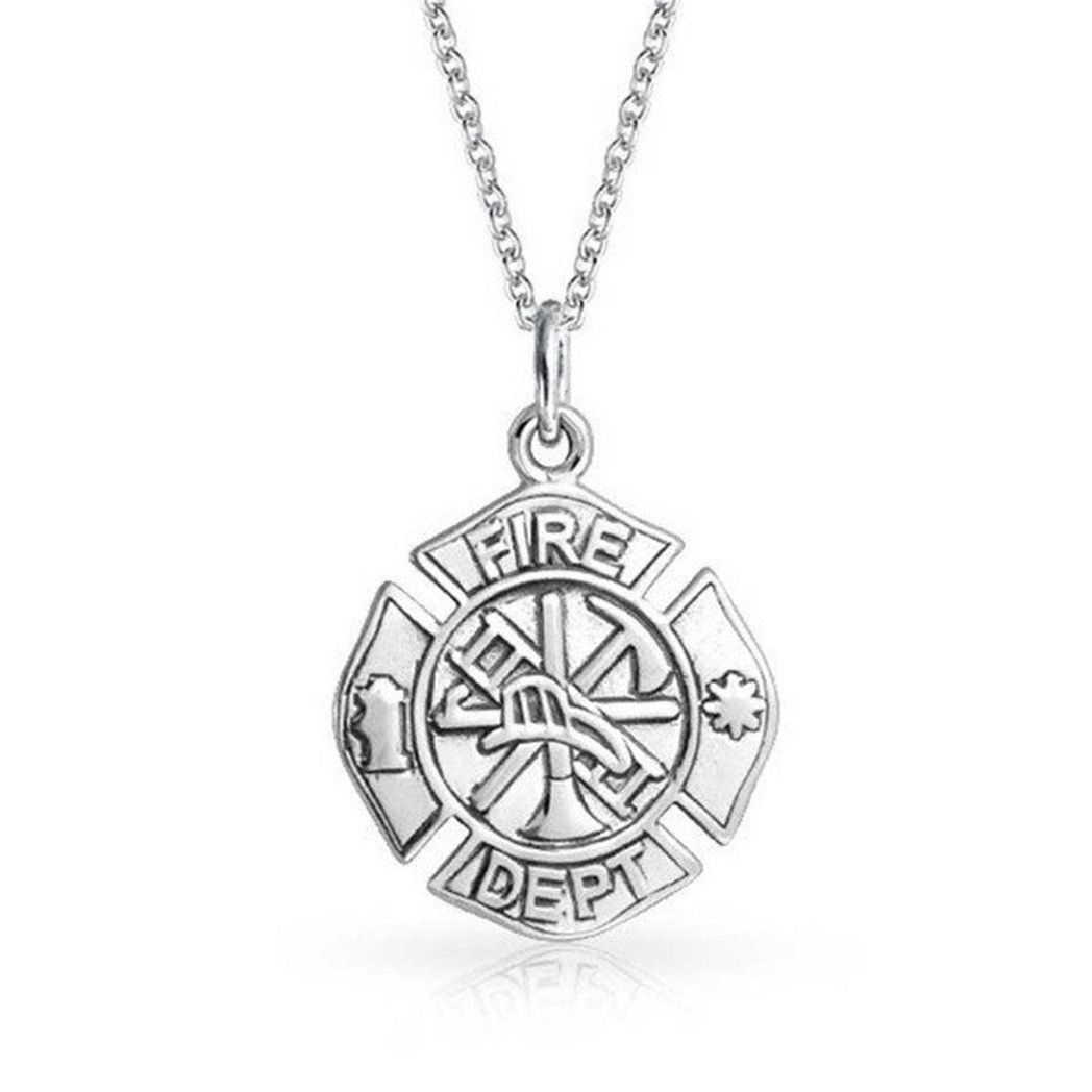 7 Fabulous Firefighter Maltese Cross Necklace With Images