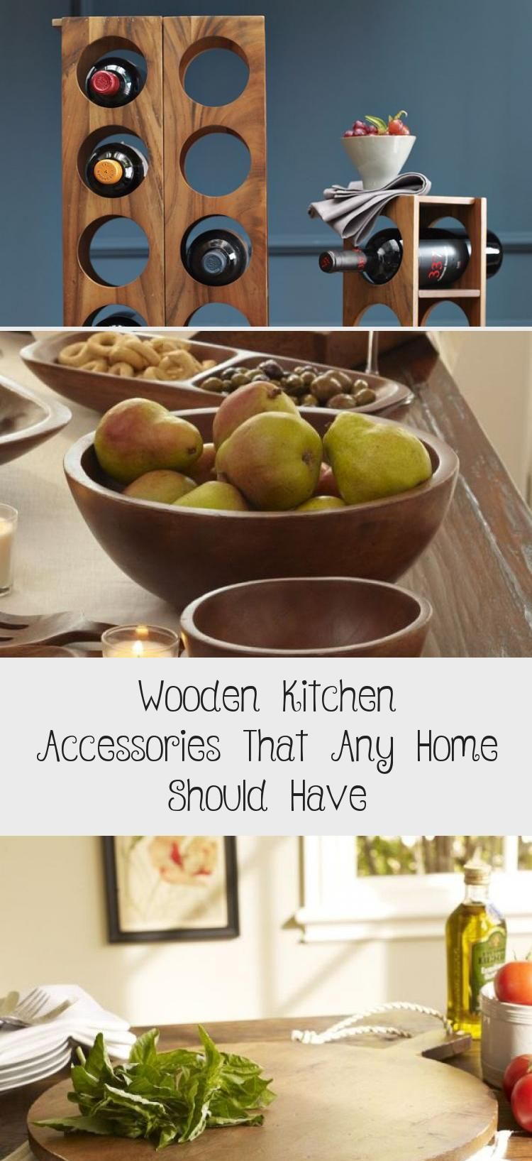 Wooden Kitchen Accessories That Any Home Should Have – KTCHN Kitchen