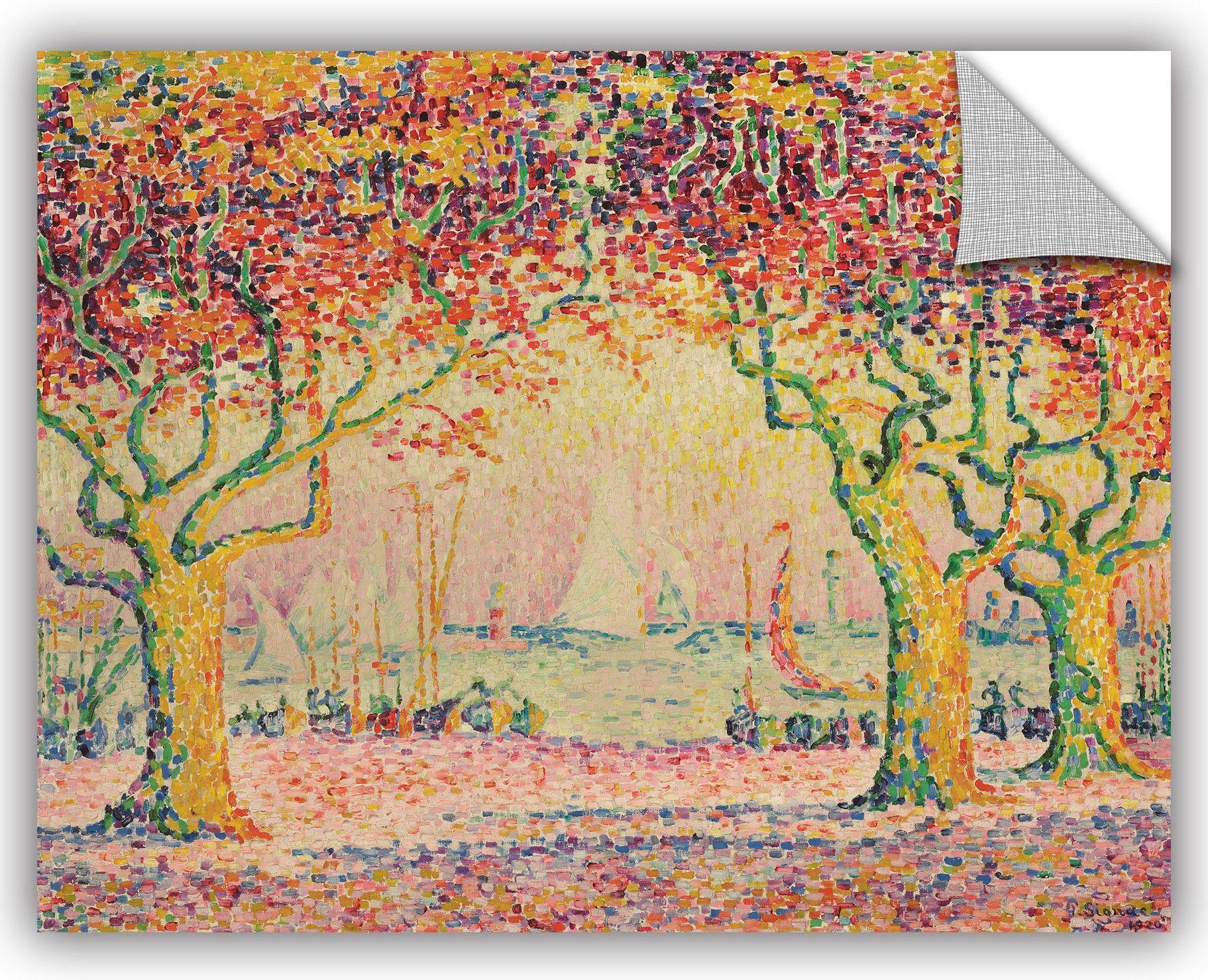Paul Signac Wall Decal Art Artwork Painting Canvas Art