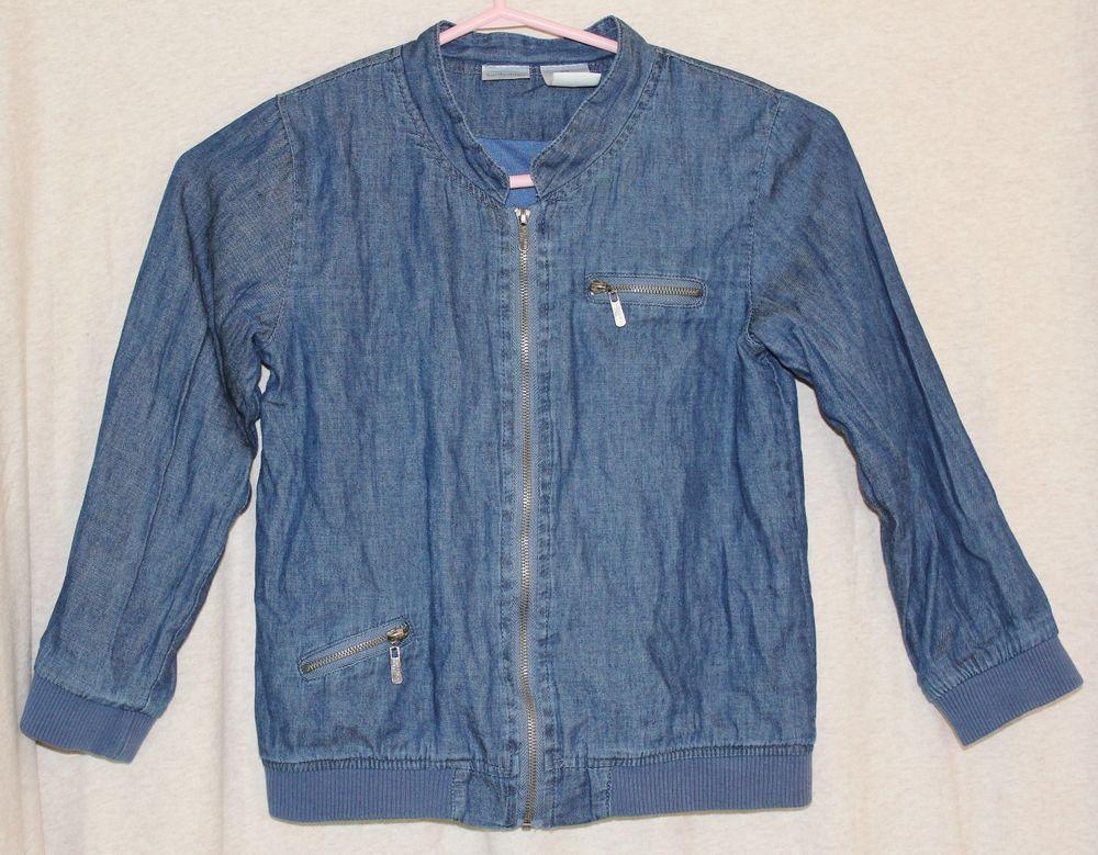 Kardashian Kids Toddler 6X Blue Full Zip Lightweight Jacket Outer ...