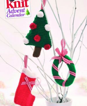 quick knit christmas card decorations free patterns by nicola valiji available at wwwletsknitcouk knitting pinterest christmas card decorations