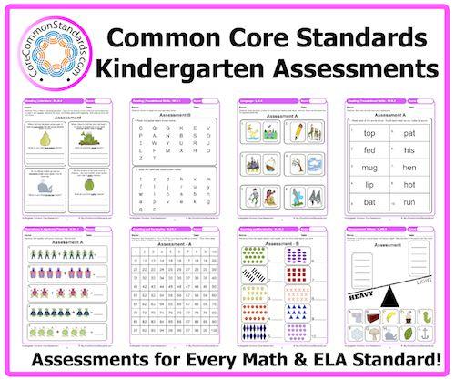 Kindergarten Common Core Assessment Workbook Download Kindergarten Assessment Common Core Kindergarten Common Core Math Kindergarten
