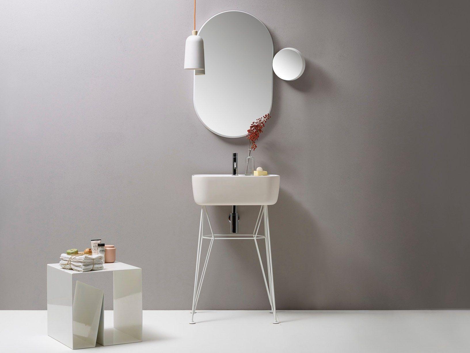 minimalhome: gus waschtisch (design: michael hilgers für ex-t, Badezimmer ideen