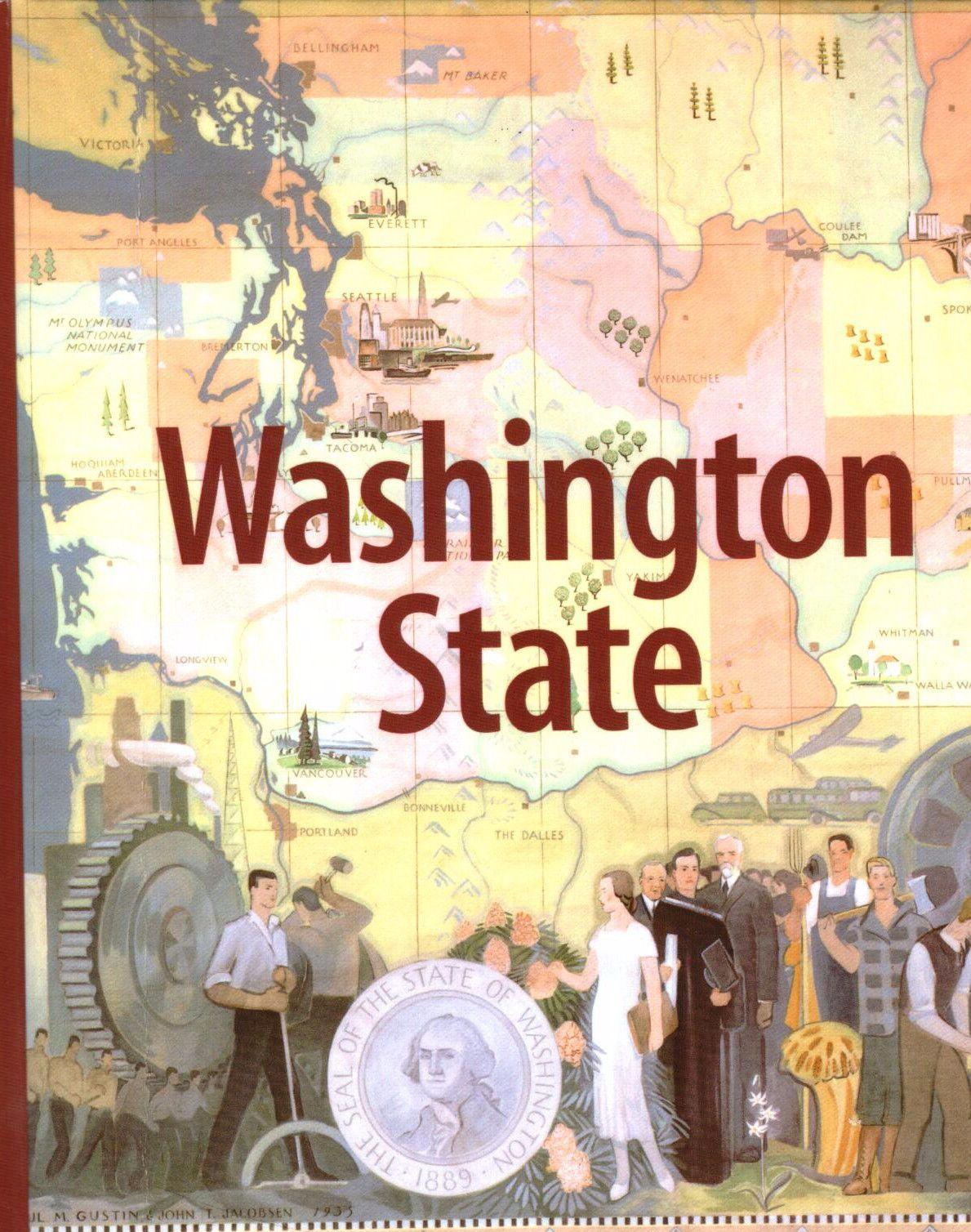 Washington State By Charles Lewarne