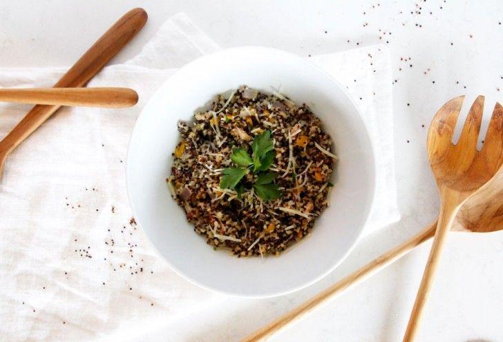 Awesome quinoa recipe. #knowmadadventures