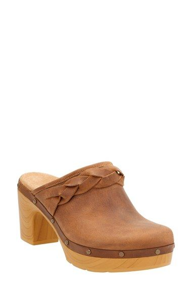 fce26fd7154 Free shipping and returns on Clarks® Ledella Meg Platform Mule (Women) at  Nordstrom.com. A flexible woodgrain sole and a cushioned footbed provide  all-day ...