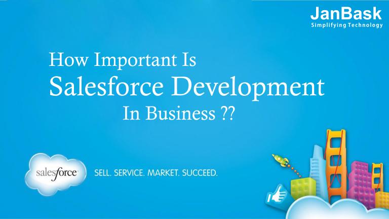 Importance Of Salesforce Custom Application Development In