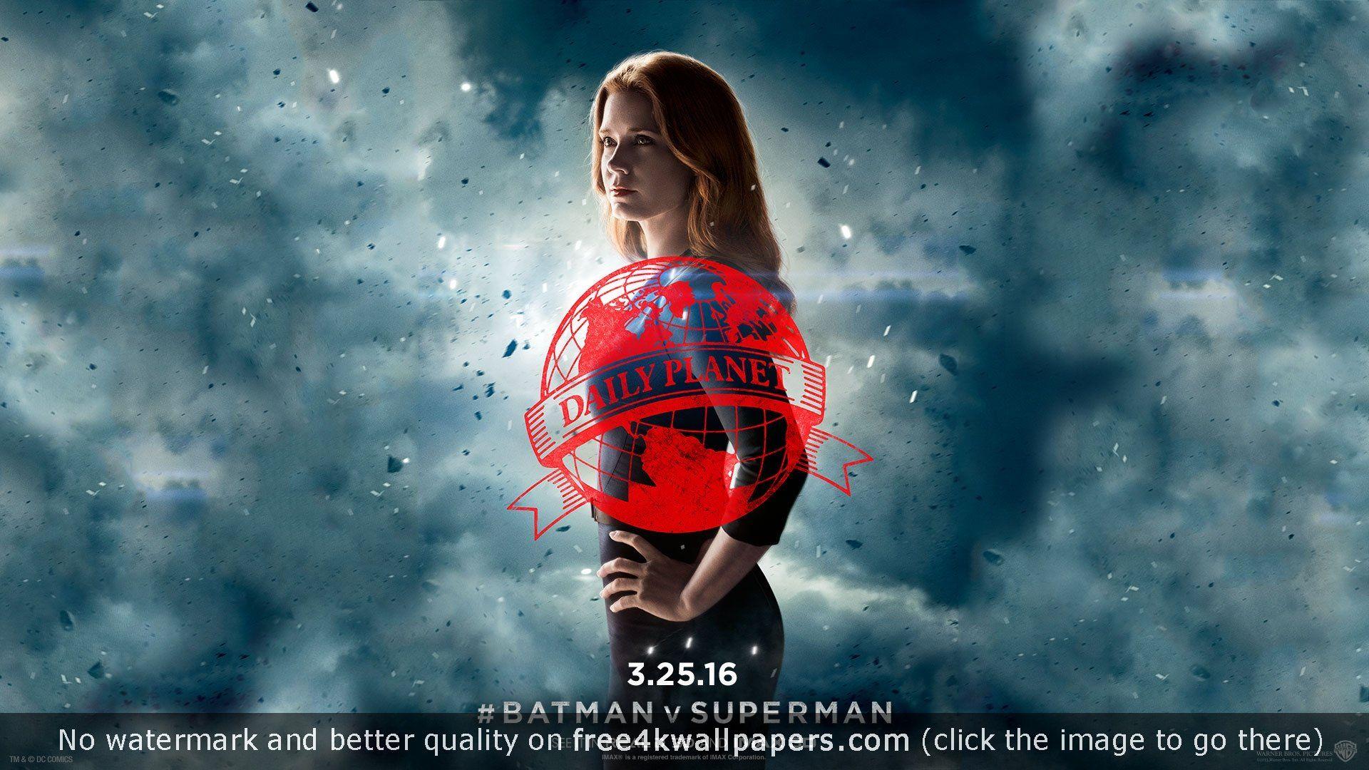 amy adams lois batman v superman 4k or hd wallpaper for your pc, mac