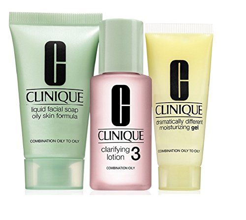 Clinique 3 Step Travel Size Set For Combination Oily To Oily Skin Click Image To Review More Details Clinique Skincare Skincare For Oily Skin Facial Soap