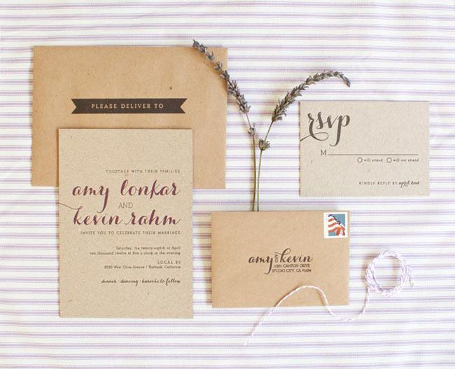 country chic la wedding: amy + kevin | wedding, kevin o'leary and, Wedding invitations