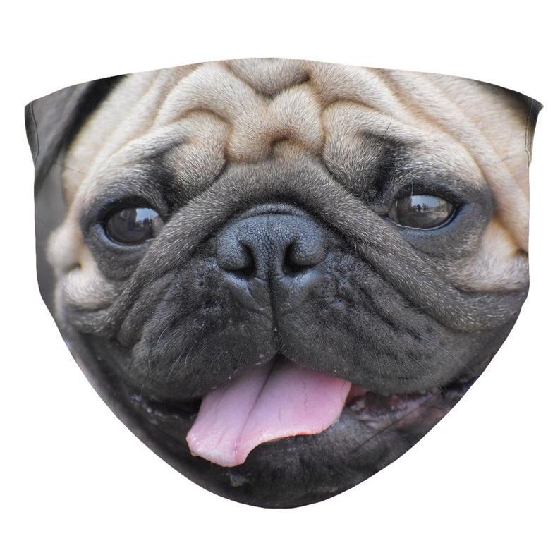 Pug Face Mask Etsy 2021