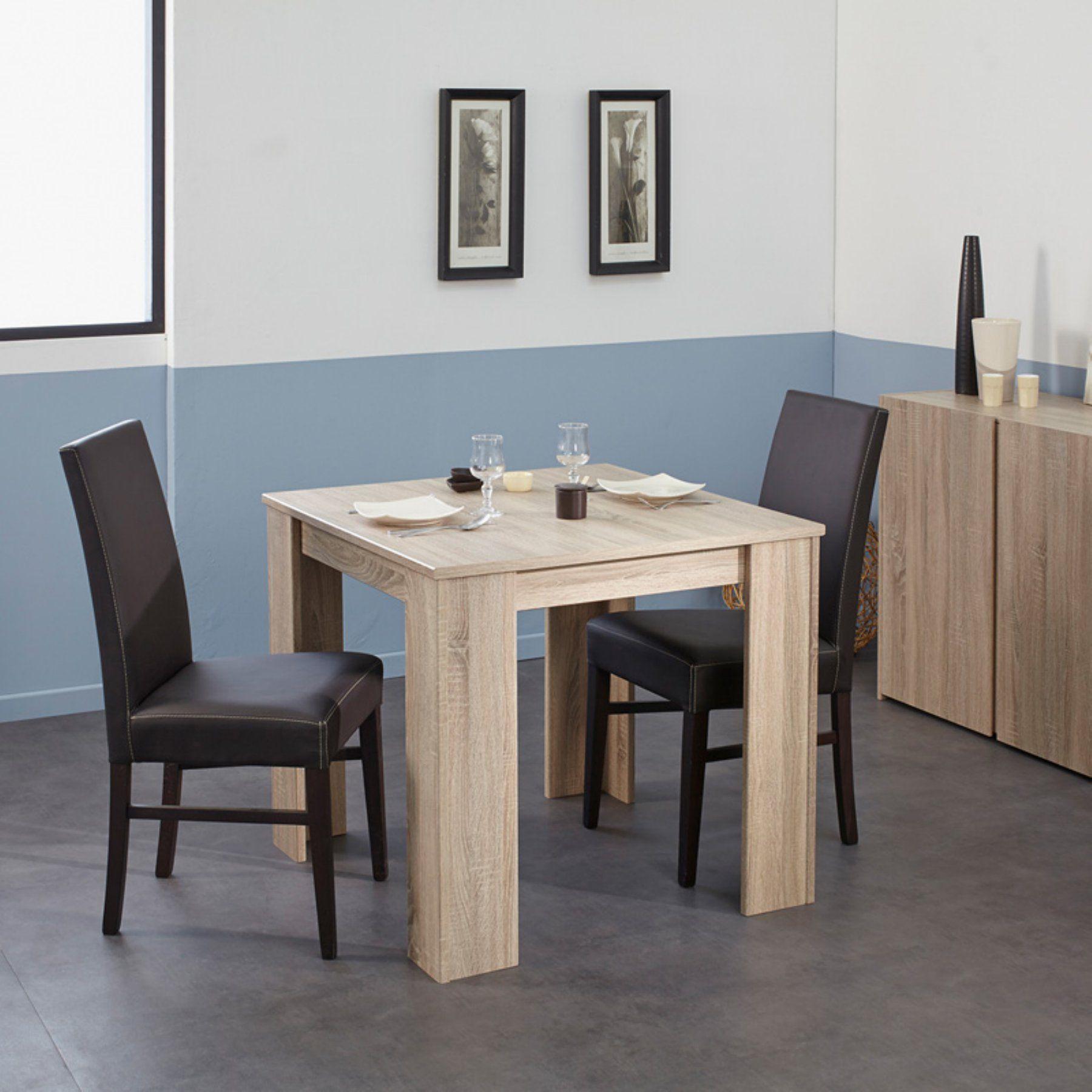 Parisot Karan Square Extendable Dining Table Dining Table