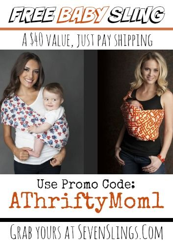 Free Baby Sling ~ SevenSlings.com with Promo Code ...