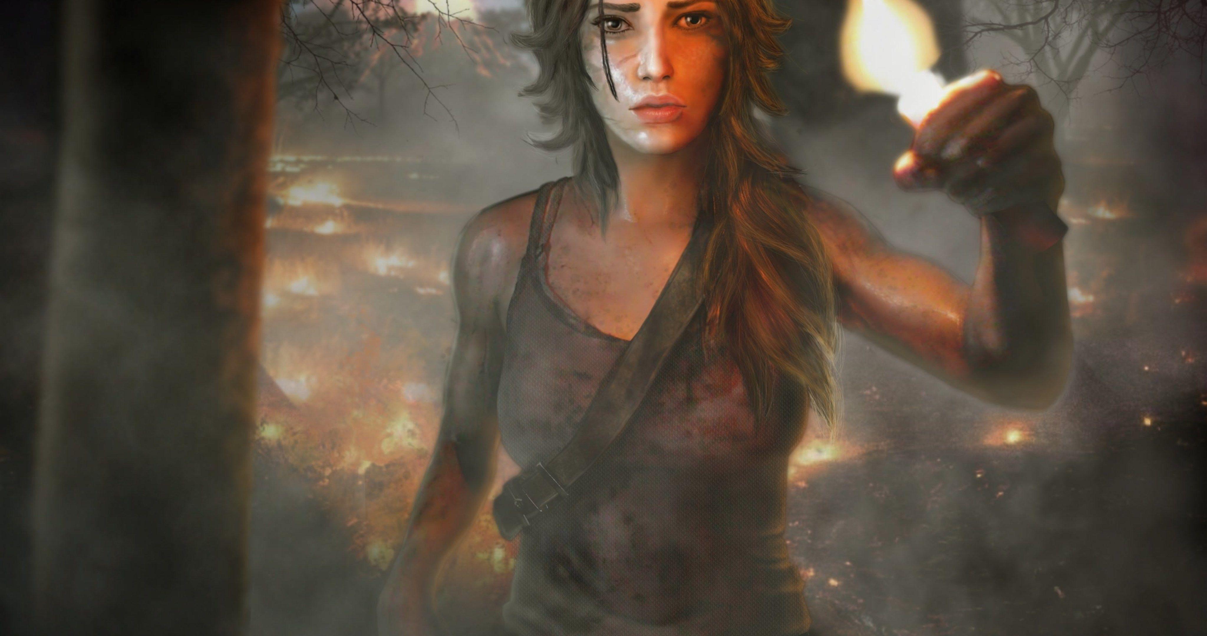 Tomb Raider Wallpaper 4k Ultra Hd Wallpaper Tomb Raider Wallpaper Tomb Raider Art Tomb Raider 2013