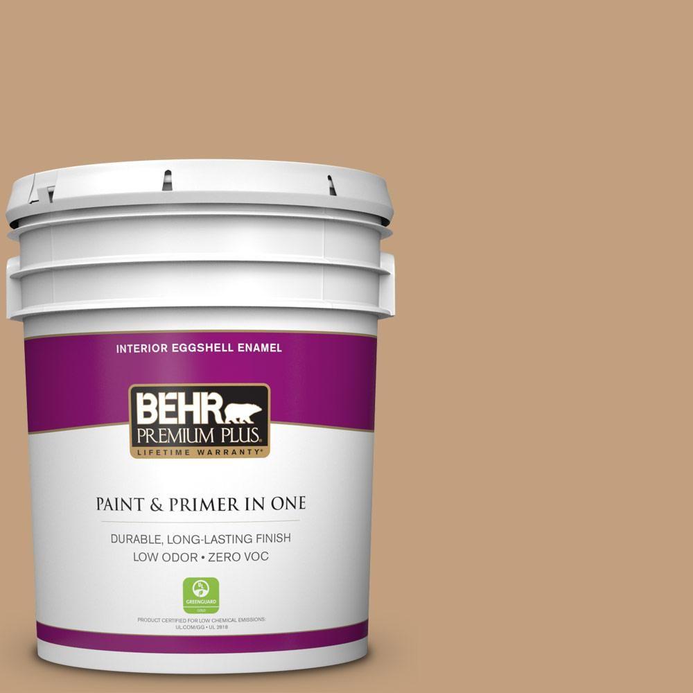 BEHR Premium Plus 5-gal. #S280-4 Real Cork Eggshell Enamel Interior Paint