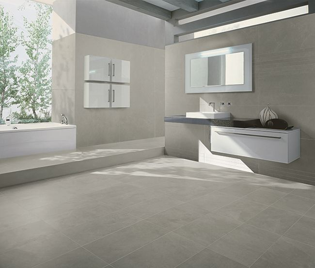 40 Grey Bathroom Floor Tile Ideas And Pictures Bathrooms Remodel Home Remodeling Bathroom Remodel Master