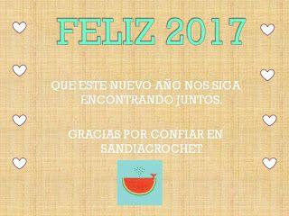 Ovillos,color y amor: Bienvenidos todos!, Bienvenidos 2017!