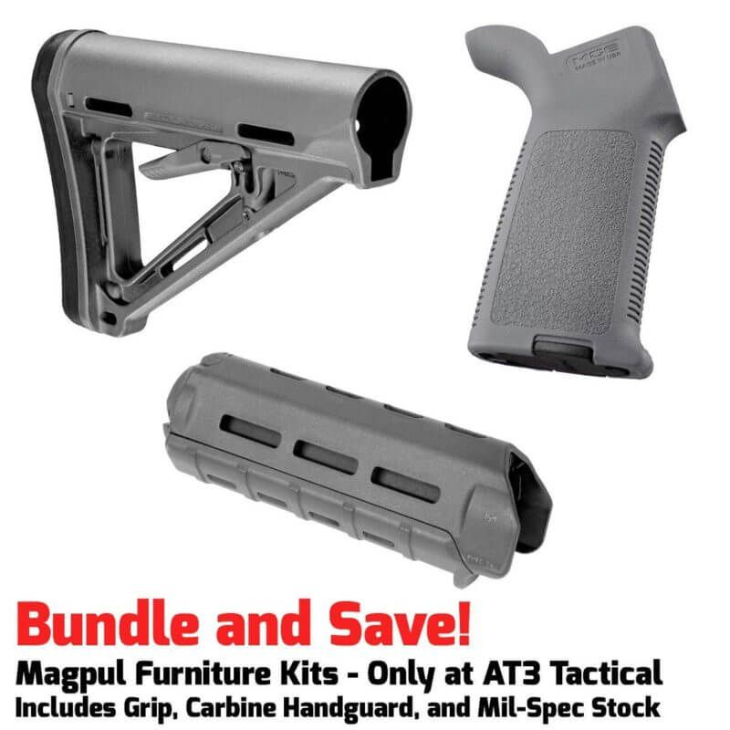 Magpul Moe M Lok Furniture Kit Stock Carbine Handguard Grip