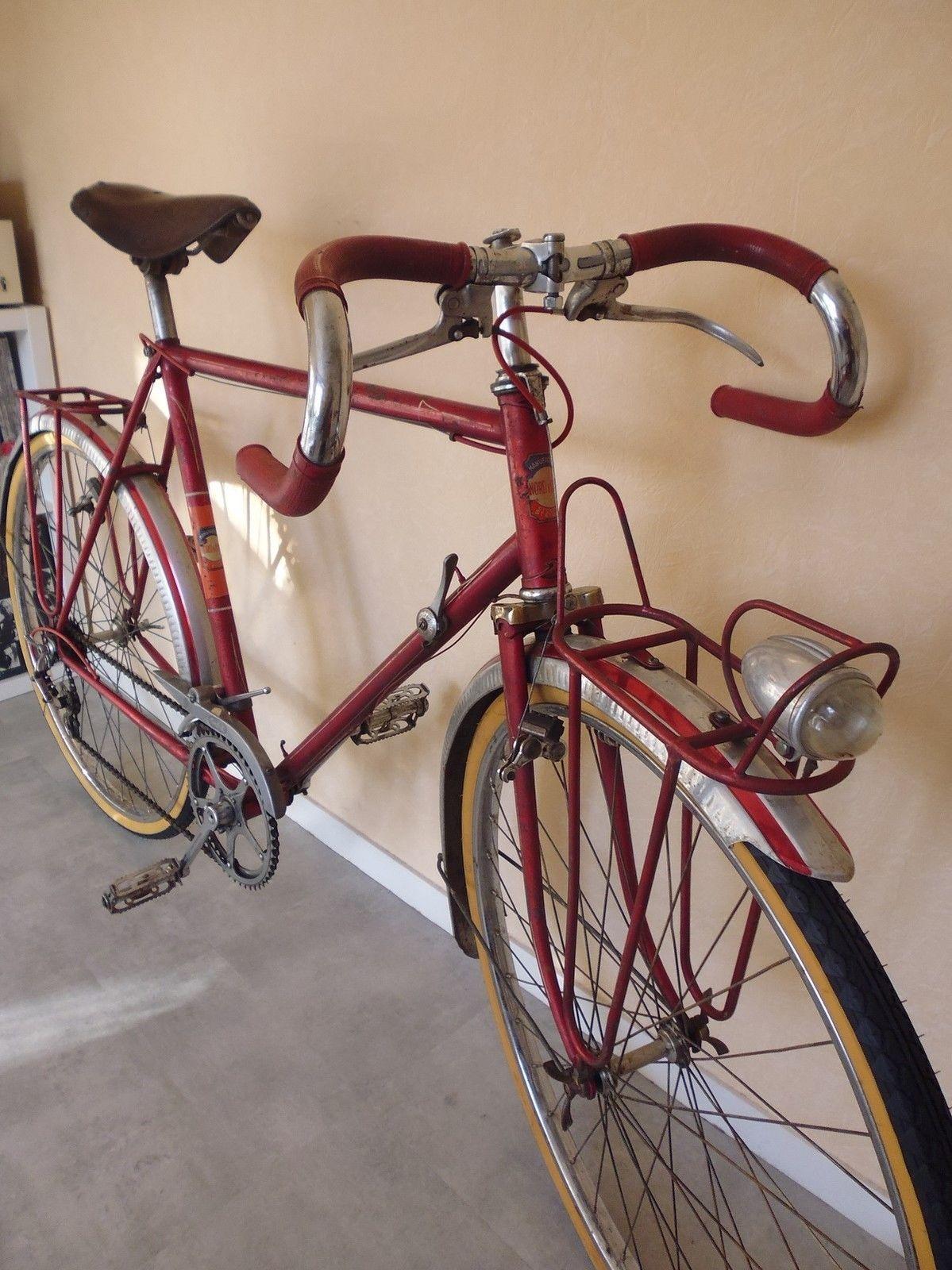 Superbe Randonneur 1950 Routens Herse Singer French Bike Collection Randonneur Bike Touring Bike Bike